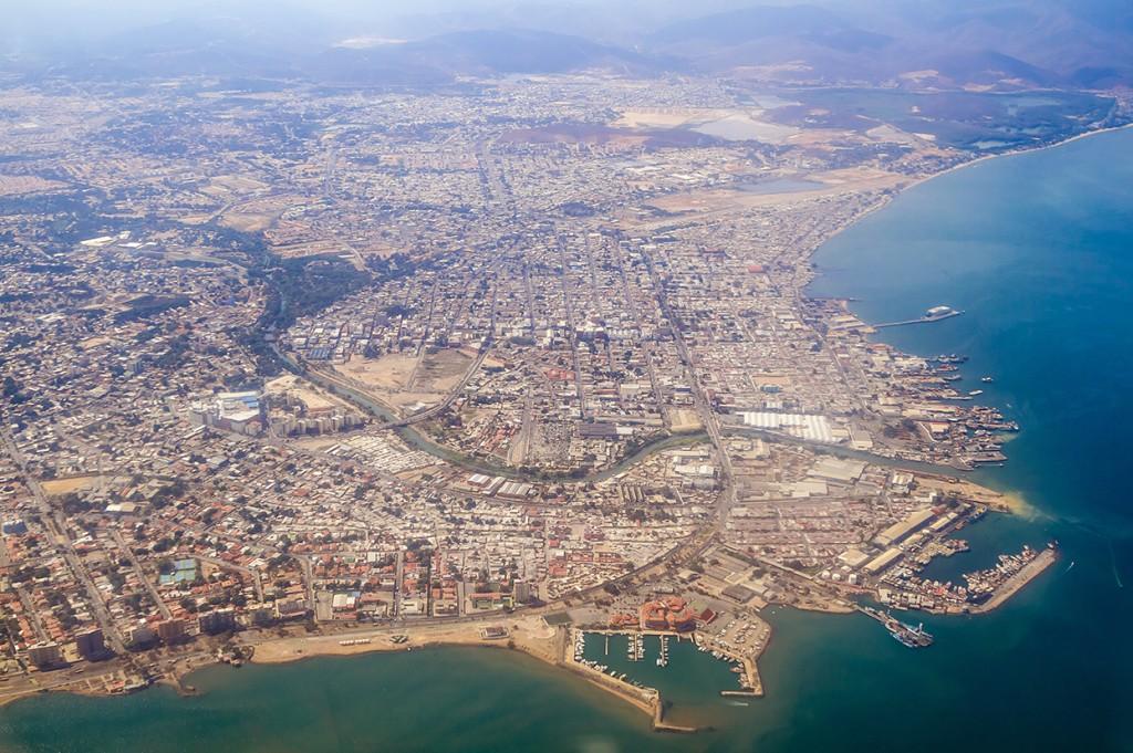 Foto aerea Cumana